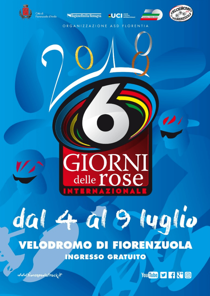 logo 6 giorni delle rose 2018